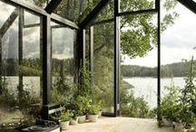 Light & Airy / Spaces with big windows, natural light and open design.