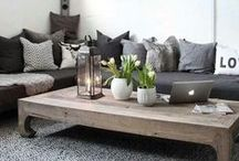 Clean Decor / Neutral tones and airy spaces.