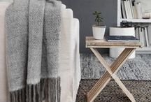 Cosy / It's all about knits, cosy sofas and warm spaces