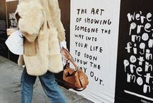 Threads // F&W. / street style, fashion envy // fall and winter
