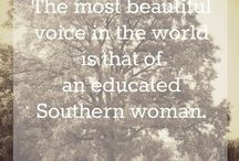 I'm in a southern state of mind. ❤️ / You can take the girl out of the south, but you can't take the south out of the girl. ❤️