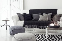 Grey&Black&White Home