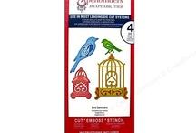 Cards - Birdcage die