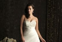 Allure Women Plus Wedding Dresses / Allure Women means Comfort and Beauty Beyond Compare.