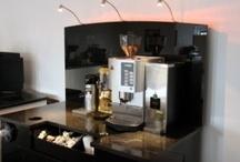 Self service coffee areas