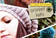 Crochet ~ Hats & Ear Warmers / by Eve Slacum-Myers