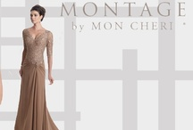 Montage by Mon Cheri Evening & Mother Dress.