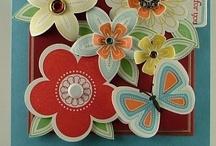 Cards - Flower punch set