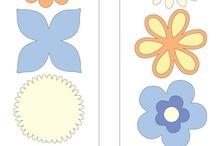 Cards - Cuttlebug floral dies