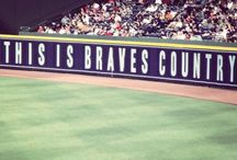 Go Braves! ❤️⚾️ / Oh how I love baseball. ❤️⚾️