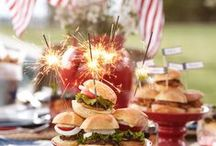 4th of July Party! / July 4th outdoor celebrations