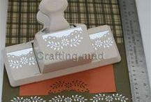 Cards - Floral vine punch - Martha Stewart