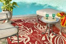 Outdoor Rugs / Some of our beautiful rugs for your outdoor spaces / by Safavieh Official