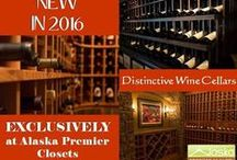 Wine Storage / Custom storage for your distinctive collection of wines. Wine cellars, wine closets, wind rooms, wine racking