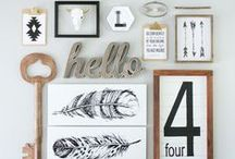 Wall Decor / Let's add some zest to those walls!