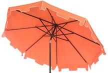Umbrellas / Beautiful Safavieh Umbrellas for when you need a break from the sun! / by Safavieh Official
