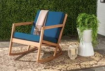 Rocking Chairs / Unwind in one of these beautiful Safavieh Rocking Chairs. / by Safavieh Official