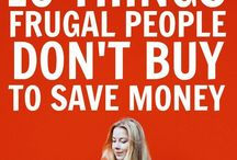 Saving Money & Frugal Living / Tips and tricks for saving money and investing. How to live well on less and enjoy a frugal lifestyle. Make the most of your budget. How to embrace frugal living and save on groceries & household expenses. Meal planning tips.