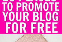 Blogging / How to start a blog and grow it. Tips for making money blogging. Blog traffic tips and ideas for growing your email list. Tips from top bloggers.