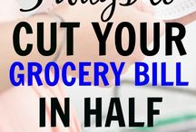 Saving Money On Groceries / How to save money on groceries. Budgeting tips and tricks for cutting costs at the grocery store. Tips for extreme couponing, saving money with no coupons and how to use cash back apps to get paid to shop. Ideas for frugal shopping lists and the best places to buy your groceries to save money.