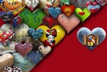 HEARTS / #hearts / by zuzugraphics