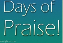 30 Days of Praise / This is a collection of original praise and worship songs I've created as a personal project.  The project is to write 30 original songs in 30 days.  They aren't produced or edited.  Just raw vocals and piano. / by Wendy Binns