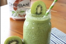 Smoothies / Healthy Smoothies with protein, fiber and healthy fat. YUM!