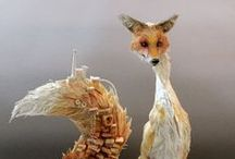 naturelove {hare | fox | crow} / by KittyElectrick