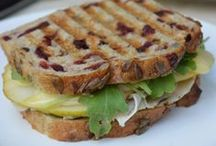 Paninis and other sandwiches
