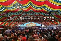 Germany | Oktoberfest / Everything you need to know about the world's largest beer festival, held in Munich, Germany each year!  Read more:  http://monkeysandmountains.com/oktoberfest-germany/