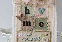 scraps, textil art