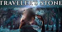 Haylee and the Traveler's Stone / An illustrated, paranormal, adventure Can you stop being lonely when your touch destroys everyone you love?