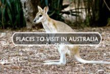 Places to Visit in Australia / Use these pins to plan you visit to the Northern Territory in Australia.  / by Laurel Robbins: Monkeys and Mountains Adventure Travel Blog