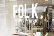 Love FOLK conceptstore / FOLK  conceptstore is een winkel waar je een mooie mix van design, interieur, kleding, Food en papierwaren kan vinden! De producten worden met liefde uitgezocht door twee Groningse ontwerpers die hun liefde voor hun vak graag willen delen met iedereen.