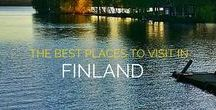 Finland | Travel Planning Guide / Travel planning advice and travel tips for Finland, including where to travel, which cities to visit, and the outdoor adventures that should be on your bucket list!