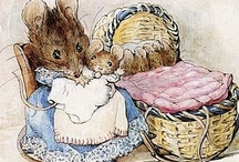 BEATRIX  POTTER / Helen Beatrix Potter (28 July 1866 – 22 December 1943) was an English author, illustrator, natural scientist and conservationist best known for her imaginative children's books featuring animals such as those in The Tale of Peter Rabbit which celebrated the British landscape and country life......love all  the characters of Beatrix Potter.