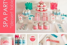 Spa Party Ideas / by Tammy Williams