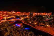 Hacienda Tres Ríos at night / Hacienda Tres Ríos, #RivieraMaya Photography by Blaine Harrington. / by Hacienda Tres Ríos Resort, Spa & Nature Park