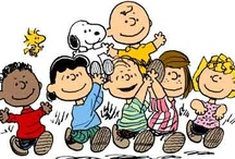 """""""Snoopy and the Gang"""" / Charles Schultz and his Peanuts  characters !"""