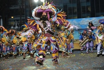 New Year's in Philadelphia: Fireworks & Mummers / Two fireworks shows end the year on a spectacular note. Then, Philly kicks off the New Year right with the Mummers Parade, a fantastical day filled with music, sequins, feathers and, of course, the Mummers' strut.