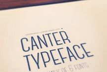 What's your type? / Fonts and typography.