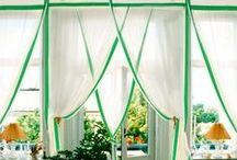 Curtains / Curtains in cotton colorated for your windows