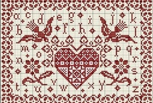 xxx  Counted Cross Stitch  xxx / This board is my treasure house of threaded ... enjoy !!