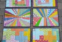 Bazaar Ideas / Craft show ideas.  Modern.  Easy to make.   / by Emerald Coast Modern Quilt Guild (ECMQG)