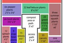 Keyhole / Square Foot Gardening / Gardening in small footprint area