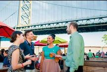 Philadelphia Beer Gardens / Beer garden season is back in Philadelphia, and we couldn't be happier. Whether you're in the mood for a liter of draft beer served in an authentic German stein or looking to enjoy a local brew in a waterfront hammock garden, you can satisfy your thirst in Philly. Here are the best spots to sip alfresco beers this summer. / by Visit Philly