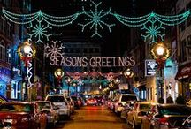 Holidays in Philadelphia / The most wonderful time of the year is even more wonderful in Philadelphia. Celebrate the season with holiday lights, spectacular events, family traditions and two outdoor ice skating rinks. / by Visit Philly