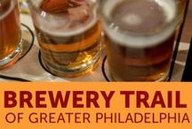 Craft Beer Trail of Greater Philadelphia / With a slew of beer-related accolades and awards to area brewers, Philadelphia is a beer city. So where can Philadelphia's acclaimed beers be tasted, and what breweries can visitors and residents tour? Here's your guide to breweries, brewpubs and craft beer in Greater Philadelphia. / by Visit Philly