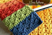 Crochet for Bathroom, Kitchen & Coasters / by Deb