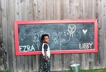 Kids - Outdoor Chalkboard